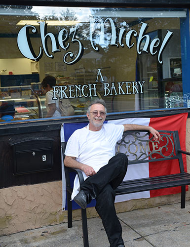 Chez Michel a French patisserie in Cape May